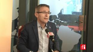 Stéphane Troussel sur RFI le 18 juillet 2017.