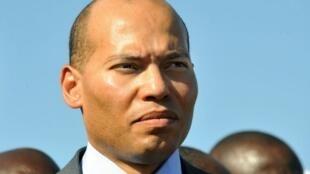 Karim Wade, le fils du président sénégalais, octobre 2008