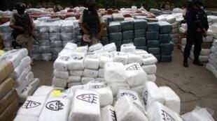 En Tijuana, decomiso 10.000 paquetes de droga el 18 de octubre.