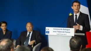 """سخنرانی مانوئل والس، نخست وزیر فرانسه در جلسه """"نشست گفتگو"""" درباره دین اسلام. ٢۵ خرداد/ ١۵ ژوئن ٢٠١۵"""