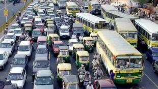 Finding solutions to traffic jams (in Dehli) could help reducing global warming...
