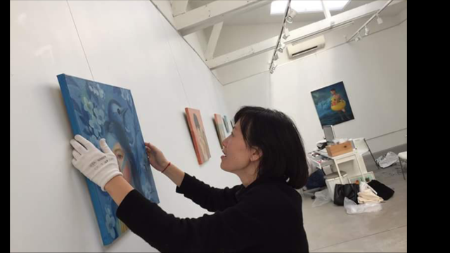 "徐华凌从10月5日到11月12日在Galerie Amarrage, 88 rue des rosiers, St-Ouen举行题为""No Where""个展"