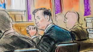 Бывшего главу штаба Дональда Трампа Пола Манафорта приговорили к 47 месяцам тюрьмы