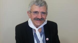 Hervé Pillaud, président de Tech'élevage, le salon vendéen de l'innovation en agriculture.