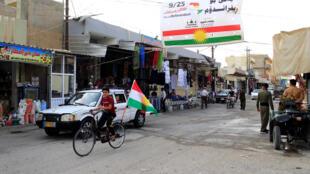 Иракский Курдистан накануне референдума, 24 сентября 2017.