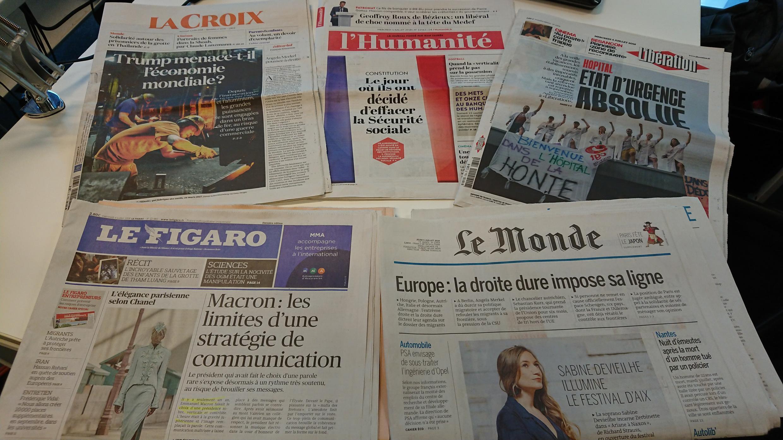 Diários franceses 04.07.2018