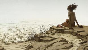 Couverture de la bande dessinée «Au pied de la Falaise», de ByMoko.
