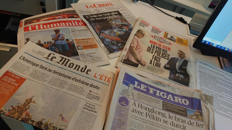 Diários franceses 05 08 2019