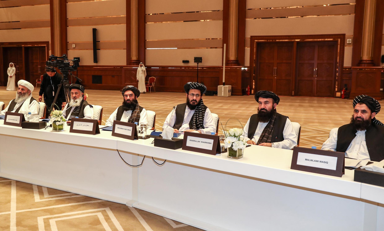 پایان هشتمین دور گفتگوها میان آمریکا و طالبان؛ هنوز توافقی اعلام نشده است. - تصویر آرشیوی