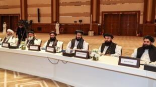 هشتمین دور گفتگوهای میان نمایندگان آمریکا و گروه طالبان از امروز شنبه سوم اوت در دوحه پایتخت قطر آغاز میشود. - تصویر آرشیوی