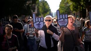 Apesar de enfraquecido, o ETA ainda conta com simpatizantes. No dia 16 de outubro, uma manifestação em San Sebastian pediu a libertação de prisioneiros da organização separatista que sofrem de doenças crônicas ou estão em estado terminal.