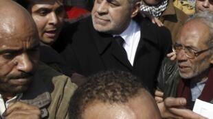 Hamdin Sabbahi, le chef de l'aile gauche du Front du salut national.