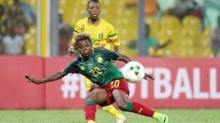 """Les Camerounaises ont battu les Maliennes lors de la """"petite finale"""" de la CAN 2018 au Ghana (4-2). Elles joueront le Mondial 2019 en France."""