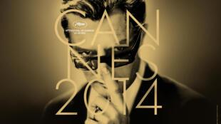 O cartaz da 67ª edição do Festival de Cannes é com o ator Marcello Mastroianni num filme clássico de Federico Fellini, 8 ½..
