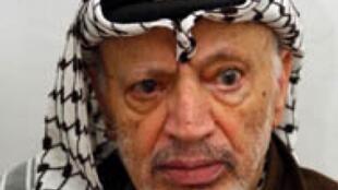 Yasser Arafat morreu no Hospital Militar de Percy, na periferia de Paris, em 2004.