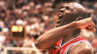 Michael Jordan, en 1998.