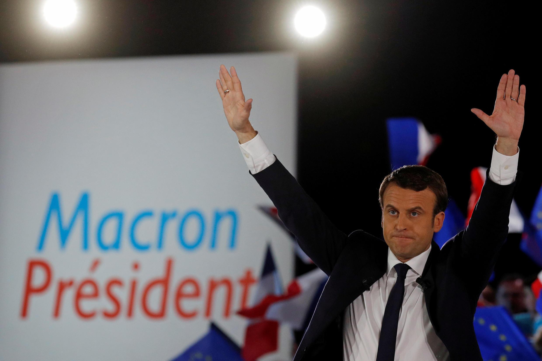 Emmanuel Macron, le 1er mai 2017.
