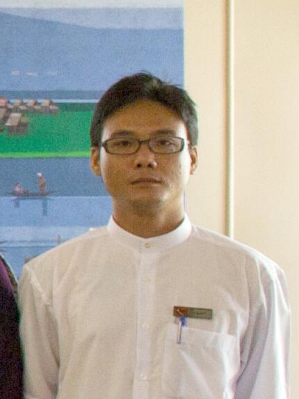 Le jeune député de l'opposition birmane, Zayar Thaw.