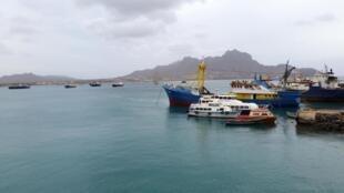 Baía do Mindelo. Cabo Verde. 1 de Fevereiro de 2015.