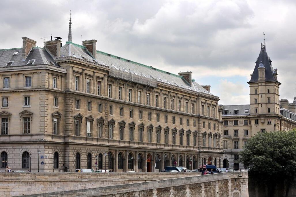 The headquarters of the Police judiciaire on the Ile de la Cité