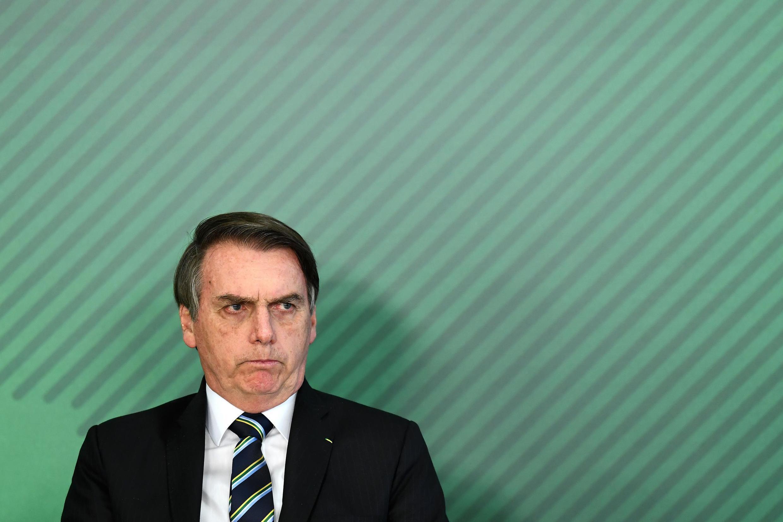 Le président brésilien Jair Bolsonaro (illustration).