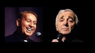 Charles Trenet y Charles Aznavour.