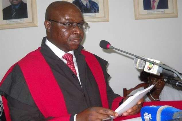 Presidente do Supremo Tribunal, juíz-conselheiro Paulo Sanhá.