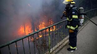 Пожары в Хайфе, Израиль, 24 ноября 2016.