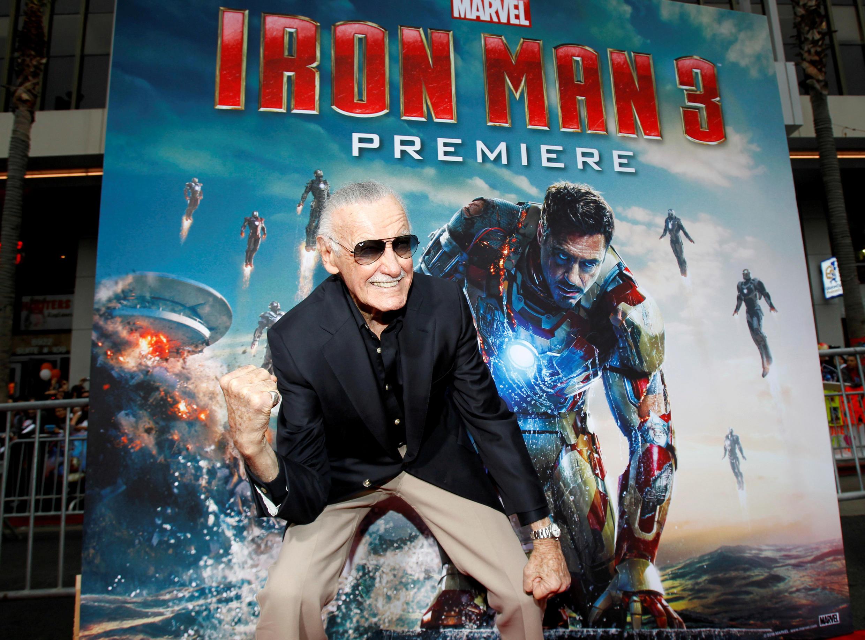 Stan Lee en 2013 promocionando la película Iron Man.