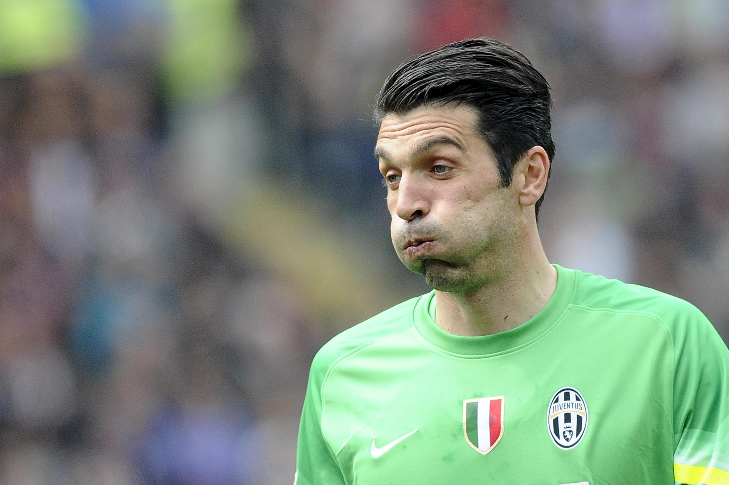Juventus goalkeeper Gianluigi Buffon has been in imperious form during his side's defence of their Serie A title.