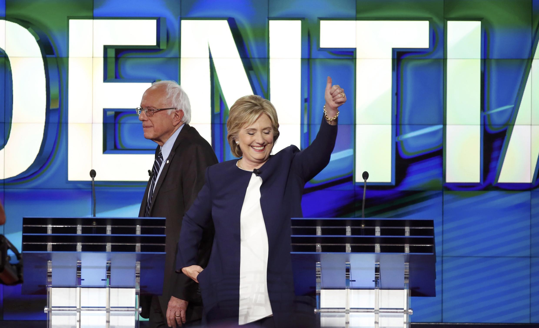 Hillary Clinton est sortie grande favorite du débat télévisé entre les candidats à l'investiture démocrate.