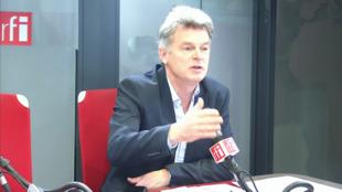 Fabien Roussel sur RFI, en février 2020.