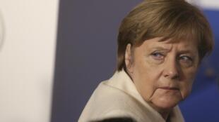 Waziyar Jamus Angela Merkel na daukan matakan yaki da 'yan ta'adda