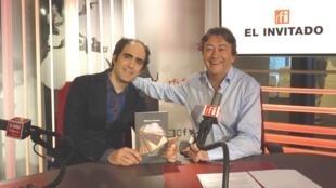 Marcos Eymar y Jordi Batallé en RFI