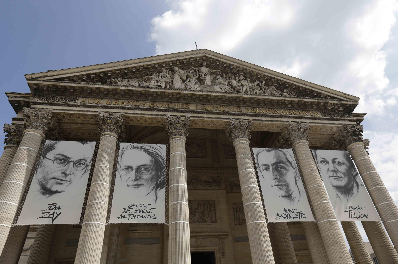 Năm 2015, Pháp đưa thi hài bốn anh hùng kháng chiến vào điện thờ Panthéon: Jean Zay, Geneviève de gaulle Anthonioz, Pierre Brossolette và Germaine Tillion.
