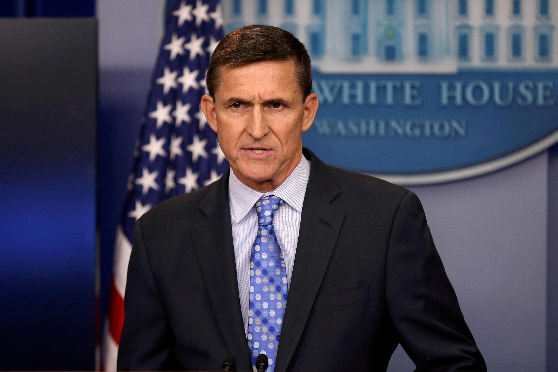 Ông Michael Flynn, lúc còn ở Nhà Trắng. Ảnh chụp ngày 1/02/2017.