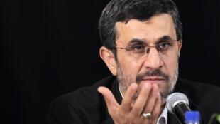 Este martes 2 de octubre, Mahmud Ahmadinejad dio una conferencia de prensa acerca de estos temas.