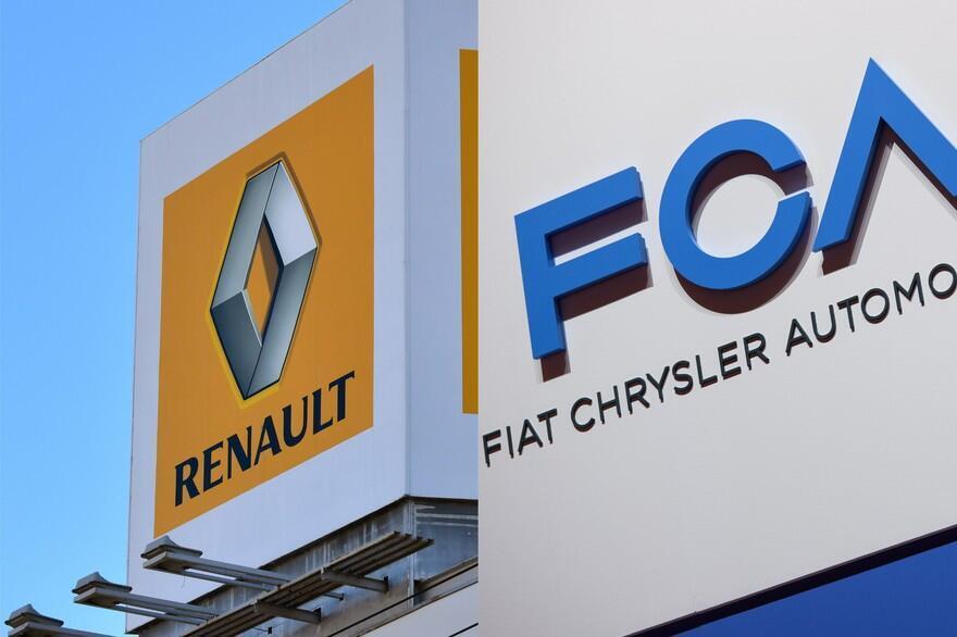 """درصورت ادغام """"فیات کرایسلر"""" و """"رنو""""، سومین خودروساز بزرگ جهان تشکیل خواهد شد."""