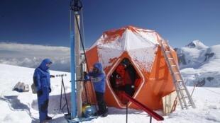 Photo de la mission Sauvegarder la mémoire de la glace.