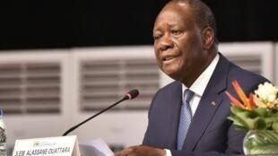 Shugaban Ivory Coast Alassane Ouattara.