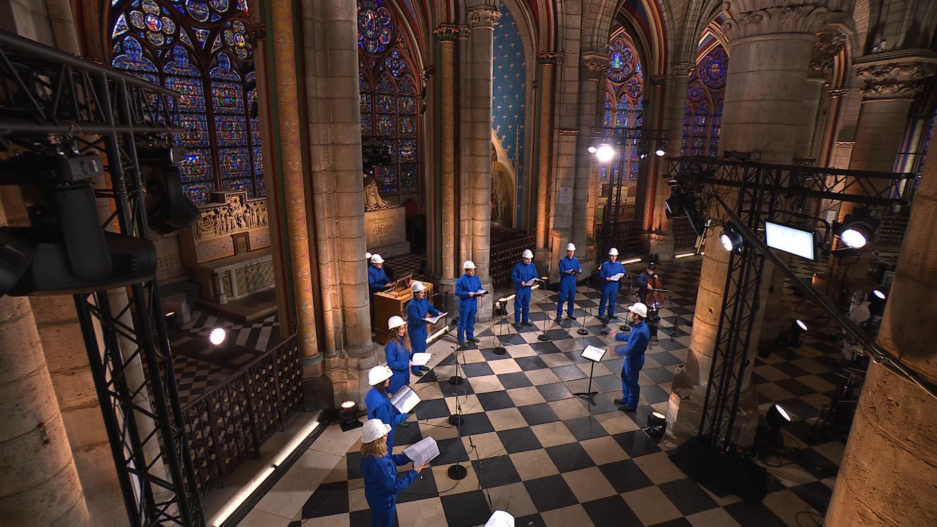 France - concert de Noël - Christmas - Notre Dame - Paris
