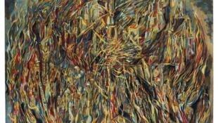"""""""L'Incendie 1"""" de Maria Helena Vieira da Silva (1944)"""