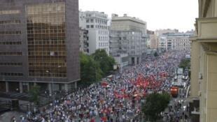 Марш миллионов в Москве 12/06/2012