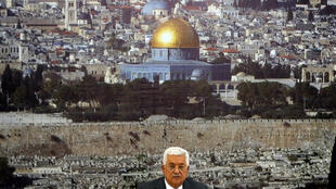 Le président de l'Autorité palestinienne Mahmoud Abbas annonce le gel des relations avec Israël pour protester contre les nouvelles mesures de sécurité sur l'Esplanade des Mosquées à Jérusalem, le 21 juillet 2017.