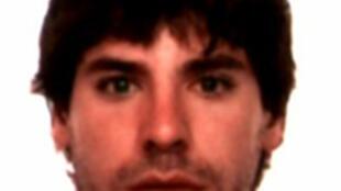 O membro do ETA Ugaitz Errazquin Tellería, de 27 anos, preso na França na terça-feira (26).