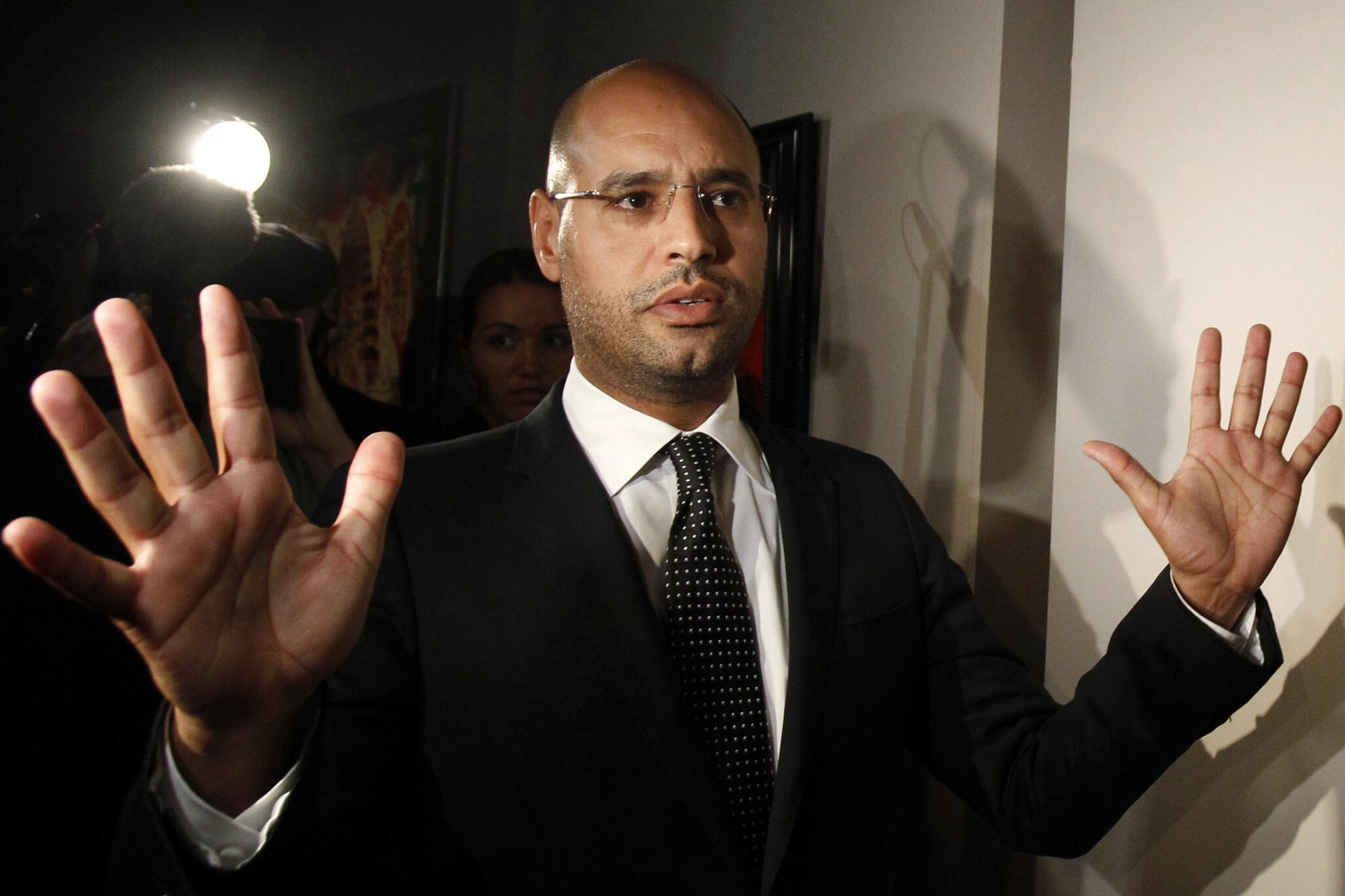 Saïf al-Islam Kadhaf, fils du dirigeant libyen tué en 2011, laisse planer la possibilité d'un retour sur la scène politique libyenne.