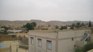 Un aperçu de la ville de Redeyef, en Tunisie, où se trouve l'un des sites d'exploitation de phosphate.