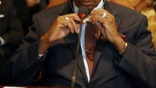 Le président du Malawi, Bingu  wa Mutharika.