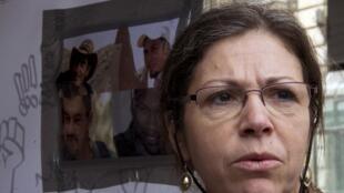 Pascale Robert, la mère de Pierre Legrand, l'otage français retenu au Mali.