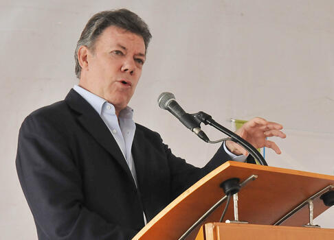 Shugaban kasar Colombia, Juan Manuel Santos